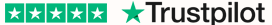 Рейтинг 5 звезд на Trustpilot
