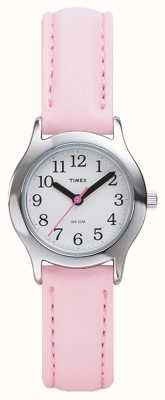 Timex Женские / детские розовые часы-ремешок T79081