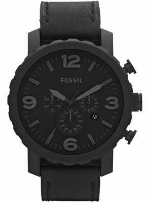Fossil Мужские черные хронографы x-large watch JR1354