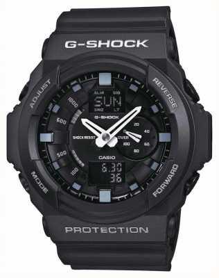 Casio Mens G-Shock черный хронограф GA-150-1AER