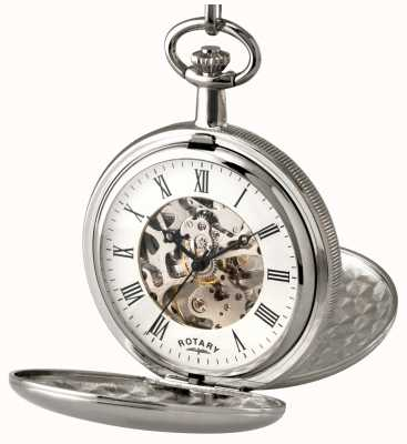 Rotary Карманные часы из каркаса из нержавеющей стали Gent MP00726/01