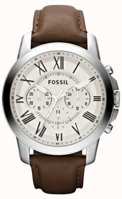 Fossil Мужской ремешок из хронографа FS4735