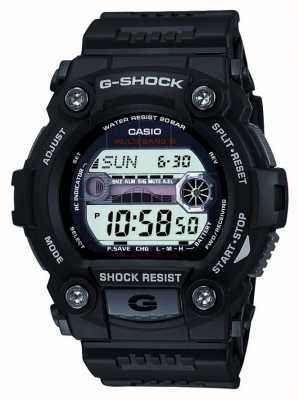 Casio Цифровой хронограф черного черного g-удара GW-7900-1ER