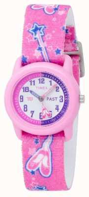 Timex Детские розовые балерины аналоговые ремешок смотреть T7B151