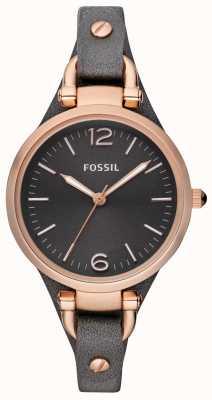 Fossil Женские кожаные ремешки аналоговые часы ES3077