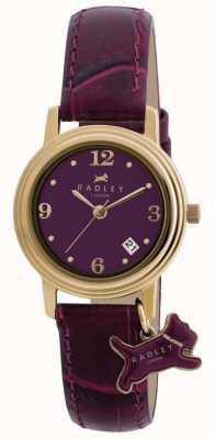 Radley Женский Дарлингтон фиолетовый кожаный ремешок фиолетовый циферблат RY2008S