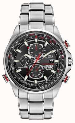 Citizen Красные стрелки Гента на d9 хронографе eco-drive watch AT8060-50E