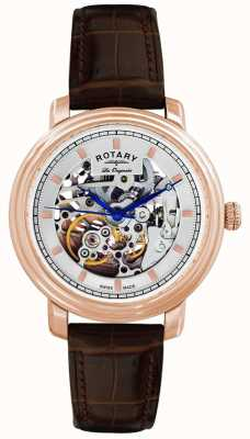Rotary Женские часы из натуральной кожи GS90505/06