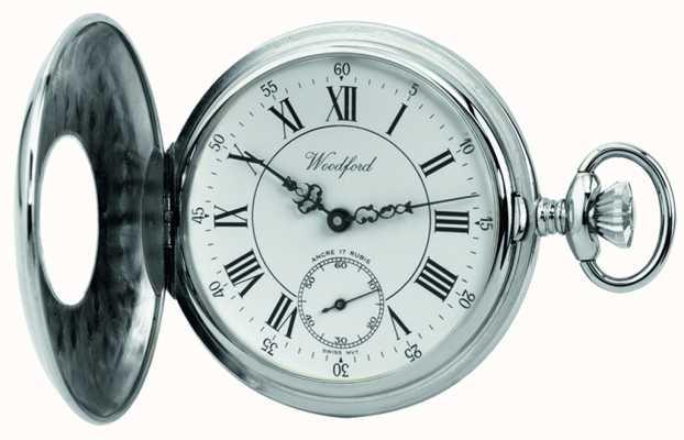 Woodford | полуохотник | хром закончил | карманные часы | 1011