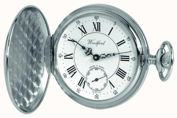Woodford | полный охотник | хром закончил | карманные часы | 1012