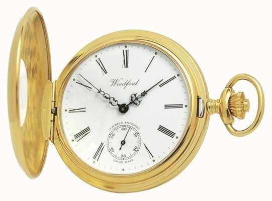 Woodford | полуохотник | позолота | карманные часы | 1015