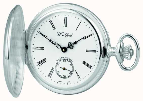 Woodford | полный охотник | стерлинговое серебро | карманные часы | 1001