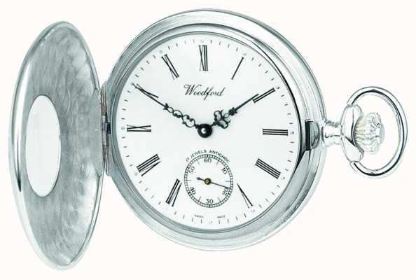 Woodford | полуохотник | стерлинговое серебро | карманные часы | 1004