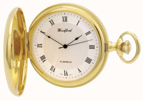 Woodford   полный охотник   позолота   карманные часы   1028