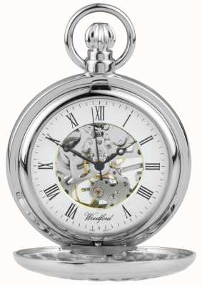Woodford Карманные часы с цветным дизайном из нержавеющей стали 1052