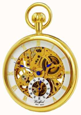 Woodford Открытые карманные карманные часы 1044