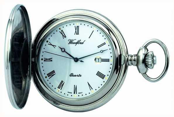 Деревянные карманные часы Woodford 1206