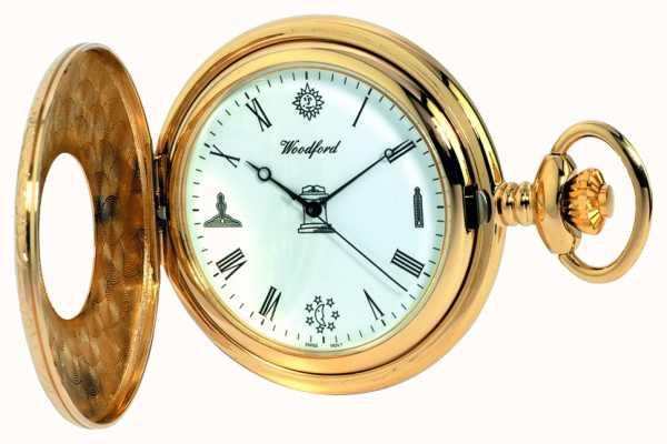 Woodford Мужские карманные карманные часы 1213