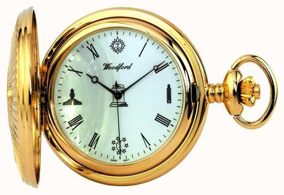 Woodford Масонные карманные часы 1214