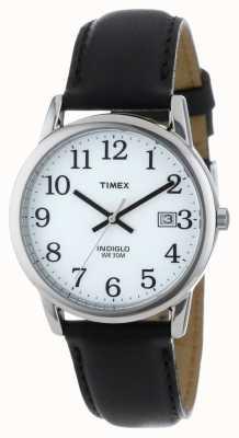 Timex Мужские белые черные часы для чтения T2H281