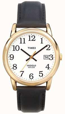 Timex Мужские белые черные часы для чтения T2H291