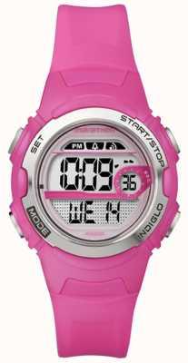 Timex Цифровая сигнализация среднего размера Indiglo marathon T5K771