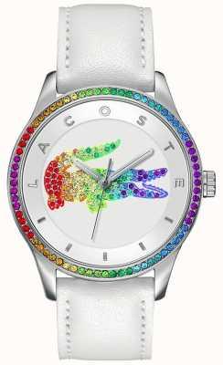 Lacoste Виктория многоцветные белые часы 2000822