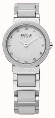 Bering Двухтональные керамические часы 10725-754