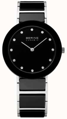 Bering Кристалл вставки керамические дизайнер часы 11435-749