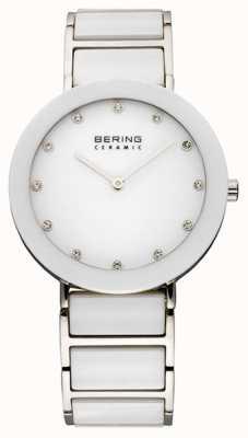 Bering Часы керамические и металлические браслеты 11435-754