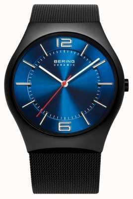 Bering Часы для мужчин с керамической сеткой 32039-447