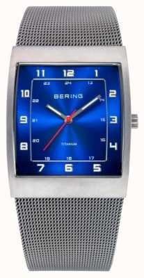 Bering Мужская сталь, циферблатные циферблатные часы 11233-078