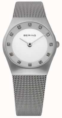 Bering Женские минималистские часы   браслет из нержавеющей стали   11927-000