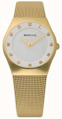 Bering Часы женские женские золотые 11927-334
