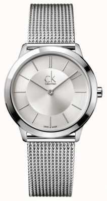 Calvin Klein Минимальная коллекция | ремешок из нержавеющей стали | K3M22126