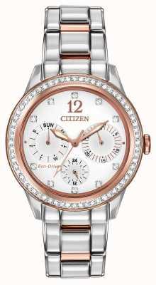Citizen Женские силуэты хрустальные часы FD2016-51A