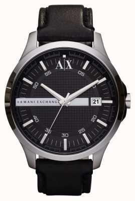 Armani Exchange Мужские кожаные ремешки для часов AX2101