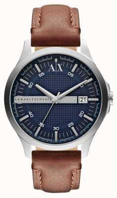 Armani Exchange Мужские кожаные ремешки для часов AX2133