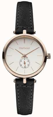 Barbour Лиловый черный кожаный ремешок смотреть BB011RSBK
