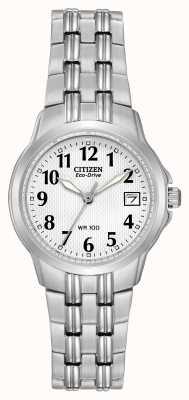 Citizen Женские силуэт спортивные эко-часы EW1540-54A
