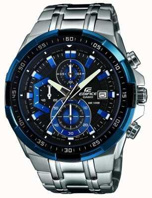 Casio Мужские стройные часы-хронограф EFR-539D-1A2VUEF