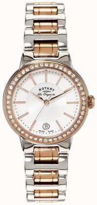 Rotary Женские часы из нержавеющей стали с розовым золотом LB90083/02