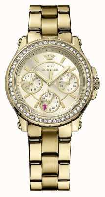 Juicy Couture Женская родословная, золото, хрусталь, браслет 1901105