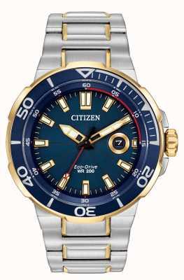 Citizen Мужские часы для эко-привода AW1424-54L