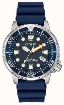 Citizen Promaster professional diver blue каучук BN0151-09L