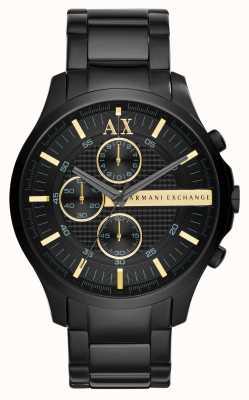 Armani Exchange Мужской черный хронограф AX2164