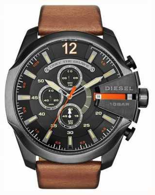 Diesel Мужские мега-черные черные часы с хронографом DZ4343