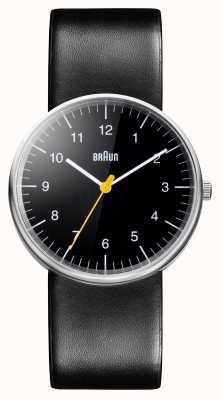 Braun Мужские все черные кварцевые часы BN0021BKBKG