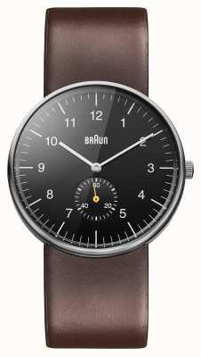 Braun Мужские черные коричневые часы BN0024BKBRG