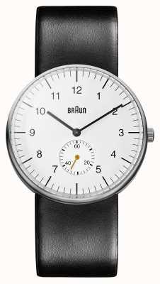 Braun Мужские белые черные часы BN0024WHBKG